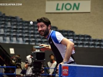 卓球 ワールドツアー・ジャパンオープン札幌:ギリシャ男子2名が参戦