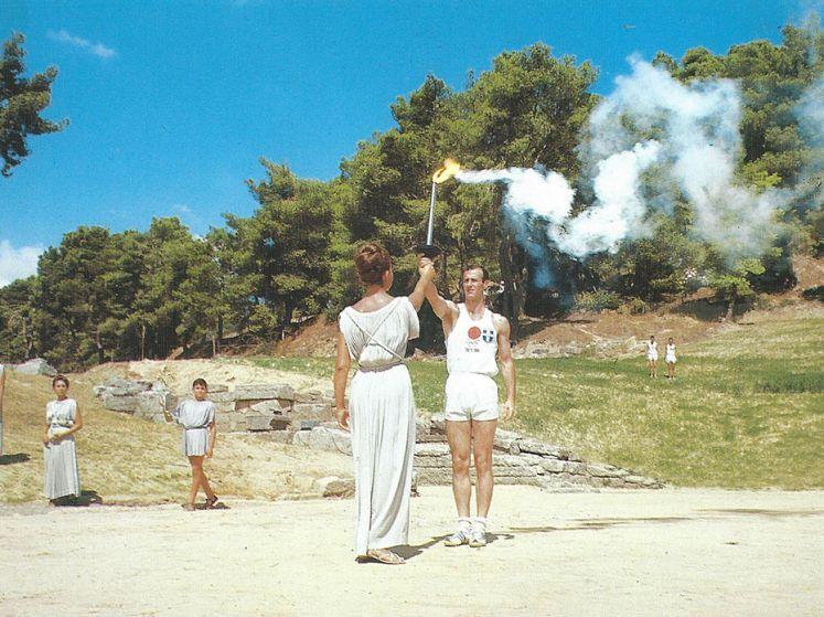ヨルゴス・マルセロス:1964年東京五輪の第一聖火ランナー、GreeceJapan.comに語る