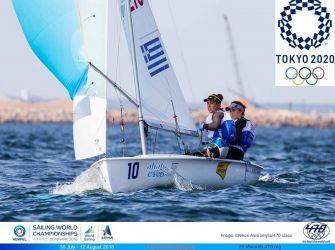 セーリングWC2018:ギリシャ470級女子のボジ‐クロナリドゥ組、2020年東京五輪の出場権を獲得