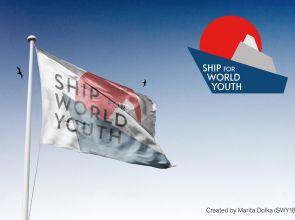 『世界青年の船(SWY)』ギリシャ人マリータ・ドルカがデザインの新ロゴを公表