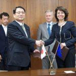 Η Ελληνίδα Επίτροπος της ΕΕ Μαρία Δαμανάκη στην Ιαπωνία