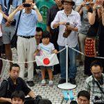 Πανηγυρισμοί στο Τόκιο για τους Ολυμπιακούς του 2020