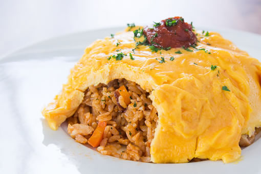 omeleta-rice
