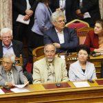Επιζώντες της Χιροσίμα και Ναγκασάκι υποδέχτηκε η Eλληνική Βουλή