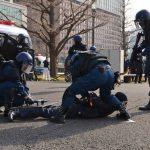 Αντιτρομοκρατική άσκηση εν όψει του Μαραθωνίου του Τόκιο 2017 (φωτογραφίες)