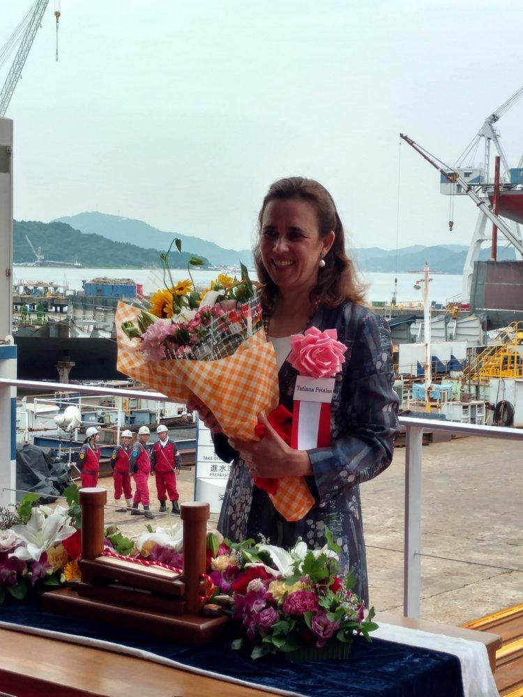 Η Γενική Διευθύντρια του Carras Group κα Τατιάνα Πεταλά