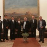Συνάντηση του Προέδρου της Βουλής με αντιπροσωπεία του Κοινοβουλίου της Ιαπωνίας