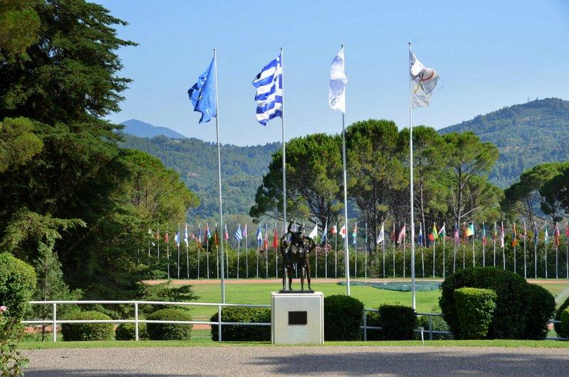 Στην Διεθνή Ολυμπιακή Ακαδημία