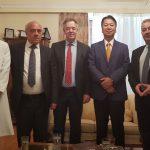 Τον Δήμαρχο Ξάνθης επισκέφθηκε ο Πρέσβης της Ιαπωνίας
