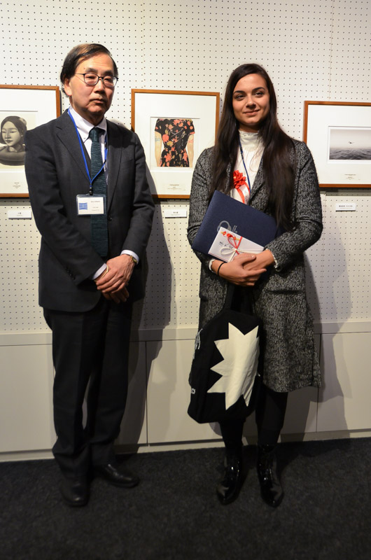 Με τον Πρόεδρο του Πανεπιστημίου κ. Ακίρα Τακεχάτα