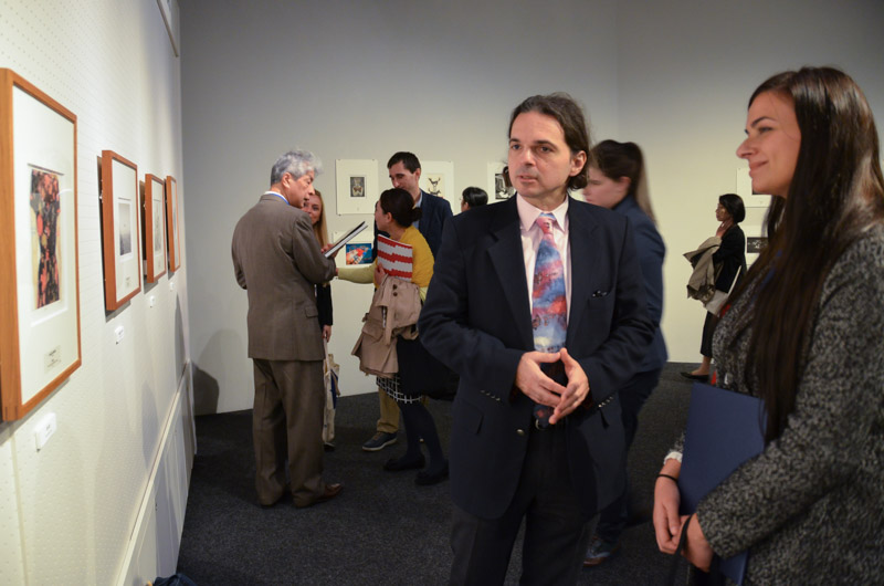 Με τον Επιτετραμμένο της Ελληνικής Πρεσβείας στο Τόκιο κ. Γεώργιο Παρθενίου