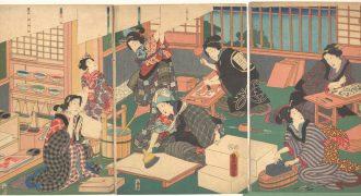 «Ουκιγιόε, η ιστορία της Ιαπωνικής Ξυλογραφίας», διάλεξη στην ΑΣΚΤ