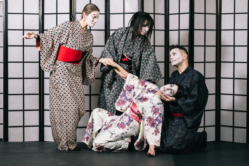 Αποτέλεσμα εικόνας για «Kuro» από την Ομάδα Akatsuki στο Θέατρο ΠΚ