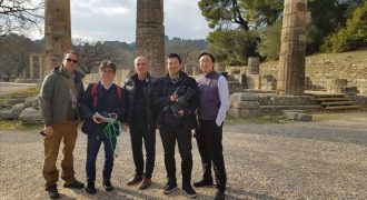 Συνάντηση ΕΟΕ και φορέων στην Αρχαία Ολυμπία για την Τελετή Αφής Τόκιο 2020