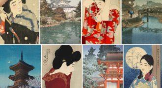 Σειρά μαθημάτων «Η νέα ιαπωνική ξυλογραφία» (Σιν Χάνγκα)