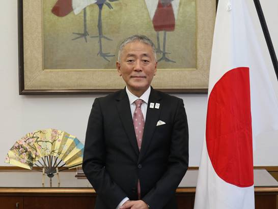Japanese Ambassador to Greece Νakayama Yasunori