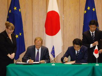 Υπογράφηκε η νέα εμπορική συμφωνία ΕΕ-Ιαπωνίας – Τα βασικά στοιχεία και τα οφέλη για την Ελλάδα