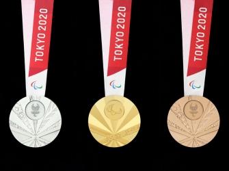 Η Ιαπωνία παρουσίασε τα μετάλλια των Παραολυμπιακών Αγώνων του Τόκιο 2020