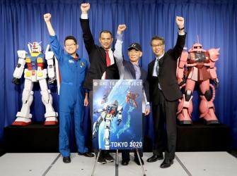 Τα Gundam στο Διάστημα (στην κυριολεξία) για το Tokyo 2020