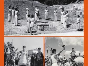 Έκθεση φωτογραφίας για τη Λαμπαδηδρομία των Ολυμπιακών Αγώνων του Τόκιο 1964