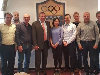 Συνάντηση για τη Λαμπαδηδρομία των Ολυμπιακών Αγώνων του TOKYO 2020