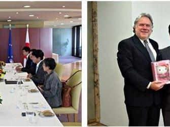 Επίσκεψη Ιάπωνα Αναπληρωτή Υπουργού Εξωτερικών στην Ελλάδα – Συναντήσεις με Κατρούγκαλο και Μητσοτάκη