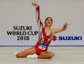 Με την Ελλάδα στο Παγκόσμιο ΚύπελλοΑεροβικής Γυμναστικής Suzuki World Cup στο Τόκιο