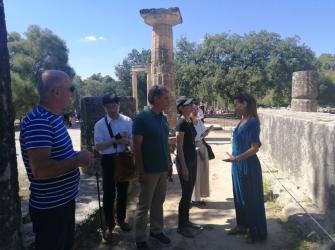 Αντιπροσωπεία του «Τόκιο 2020» στην Αθήνα και Αρχαία Ολυμπία